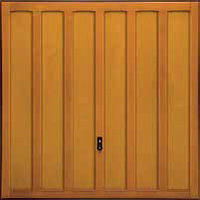 Hormann Series 2000 timber up and over garage doors Style 2007 Jacobean